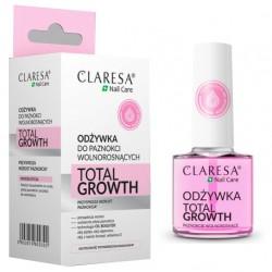 CLARESA Odżywka przyspieszająca wzrost paznoki TOTAL GROWTH