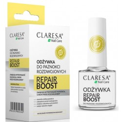 CLARESA Odżywka do paznokci rozdwojonych REPAIR BOOST
