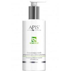 APIS Acne-Stop Oczyszczający Tonik Antybakt. Z Zieloną Herbatą 500ml