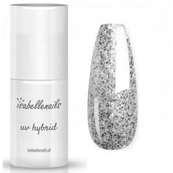 377. Glitter Silver - Isabellenails -6ml
