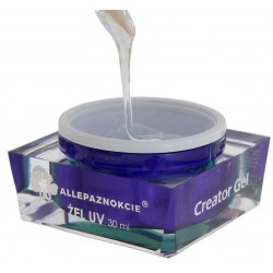 Creator Gel  LED/UV clear - 15g AllePaznokcie