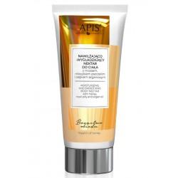 APIS -Nawilżająco- wygładzający nektar do ciała z miodem, mleczkiem pszczelim i olejkiem arganowym
