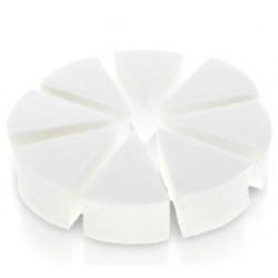 Gąbka kosmetyczna lateksowa białe