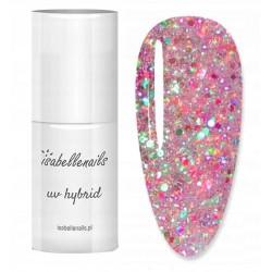 379. Marshmallow - Isabellenails -6ml- glitter multikolor