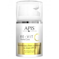 APIS RE-VIT C Rewitalizujący krem z witaminą C na dzień SPF 15