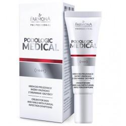 PODOLOGIC MEDICAL Krem do pielęgnacji skóry i paznokci 15ml