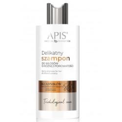APIS Delikatny szampon do włosów o różnej porowatości 300ml