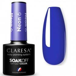 CLARESA NEON  UV/LED 5ml - NR 6