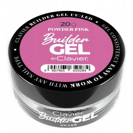Żel budujący LED/UV Clavier Powder Pink 20g