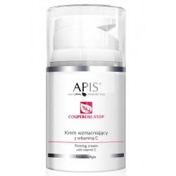 APIS Couperose -Stop Krem wzmacniający z Wit.C Cera Naczynkowa 50ml