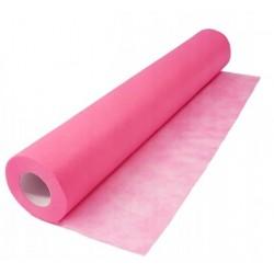 Podkład kosmetyczny  różowy z włókniny 60cmx50mb