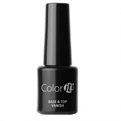 New Color IT Silcare  6ml - Base & Top Vanish