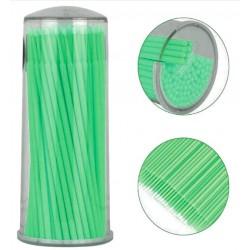 Mikroszczoteczki zielone 2mm - 100szt