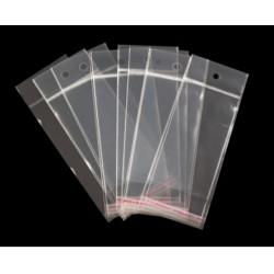 Torebka foliowa zamykana 6x15-100szt