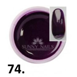 Żel kolorowy (74) Sunny Nails