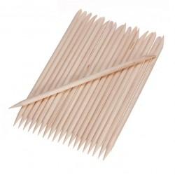 Patyczki do manicure krótkie 11cm - 25szt