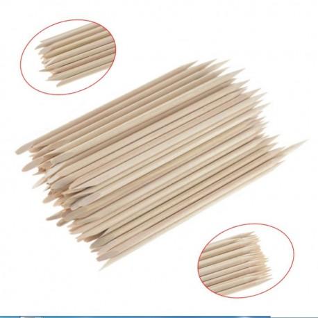 Patyczki do manicure krótkie 140 - 100szt