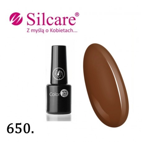 New Color IT Silcare  6ml - kolor 650