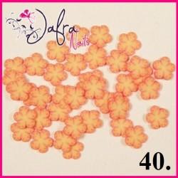 Fimo - kwiatki w woreczku 10szt.