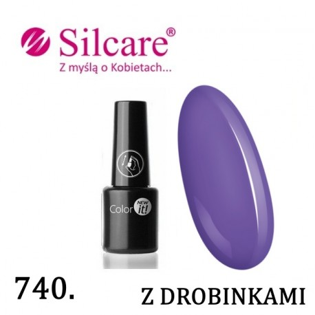 New Color IT Silcare  6ml - kolor 740