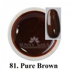 Żel kolorowy (81) Sunny Nails