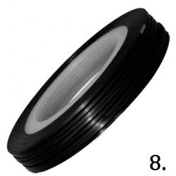 Nitka do zdobień czarna 08