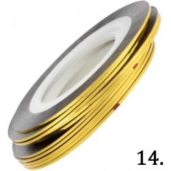 Nitka do zdobień złota 14