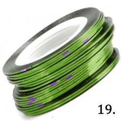 Nitka do zdobień zielona 19