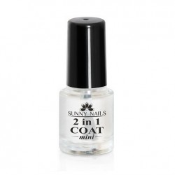 2 in 1 Coat 6ml Sunny Nails