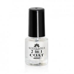 Podkład i nabłyszczacz 2in1 Coat 6ml Sunny Nails