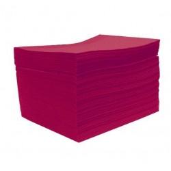Serwety podfoliowane bordowe - 50szt