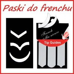 Paski do French Manicure 50szt