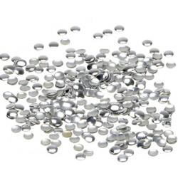 Ćwieki okrągłe srebrne 2mm - 4