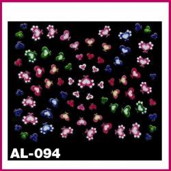 Naklejki na paznokcie AL-094