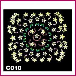 Naklejki na paznokcie 3D -C-008