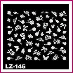 Naklejki na paznokcie 3D -LZ-145