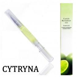 Oliwka w pisaku z pędzelkiem cytryna