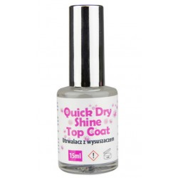 Quick Dry Shine Top Coat 15ml AllePaznokcie