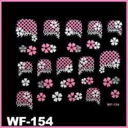 Naklejki na paznokcie 3D WF-154