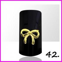 Biżuteria na paznokcie 3D z cyrkoniami 42