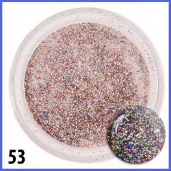 Akryl kolorowy z brokatem 53