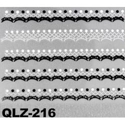Naklejki na paznokcie 3D QLZ-216