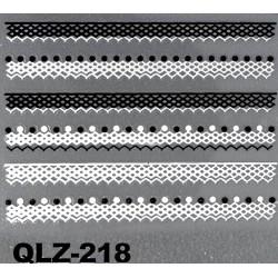 Naklejki na paznokcie 3D QLZ-218