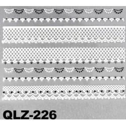 Naklejki na paznokcie 3D QLZ-226