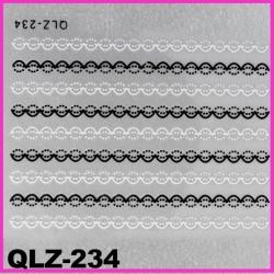 Naklejki na paznokcie 3D QLZ-234