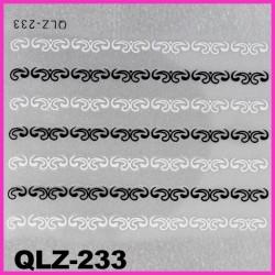 Naklejki na paznokcie 3D QLZ-233