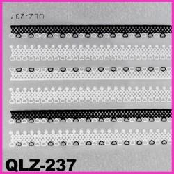 Naklejki na paznokcie 3D QLZ-237