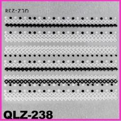 Naklejki na paznokcie 3D QLZ-238