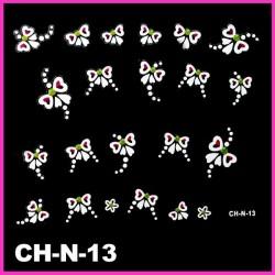 Naklejki na paznokcie 3D CH-N-13