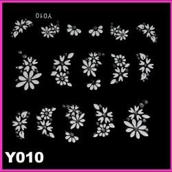 Naklejki na paznokcie 3D Y010